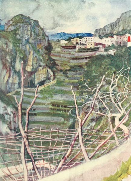 The Naples Riviera - On the Road to Ravello (1908)