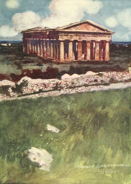 The Naples Riviera - The Temple of Neptune, Paestum (1908)