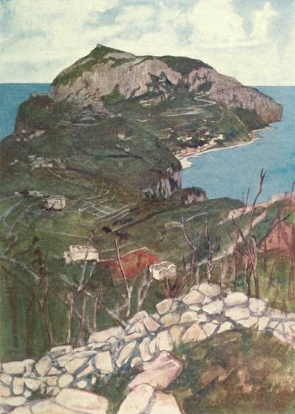 The Naples Riviera - Capri from the Villa Jovis (1908)