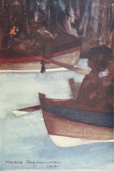 The Naples Riviera - In the Blue Grotto, Capri (1908)