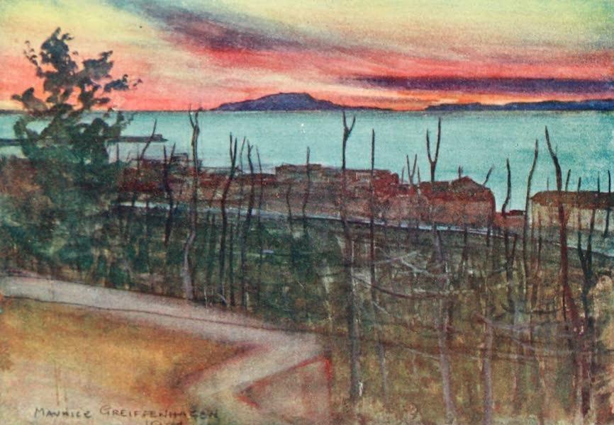 The Naples Riviera - Ischia from Castellamare (Sunset) (1908)