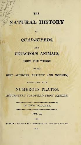 Natural History - The Natural History of Quadrupeds Vol. 2