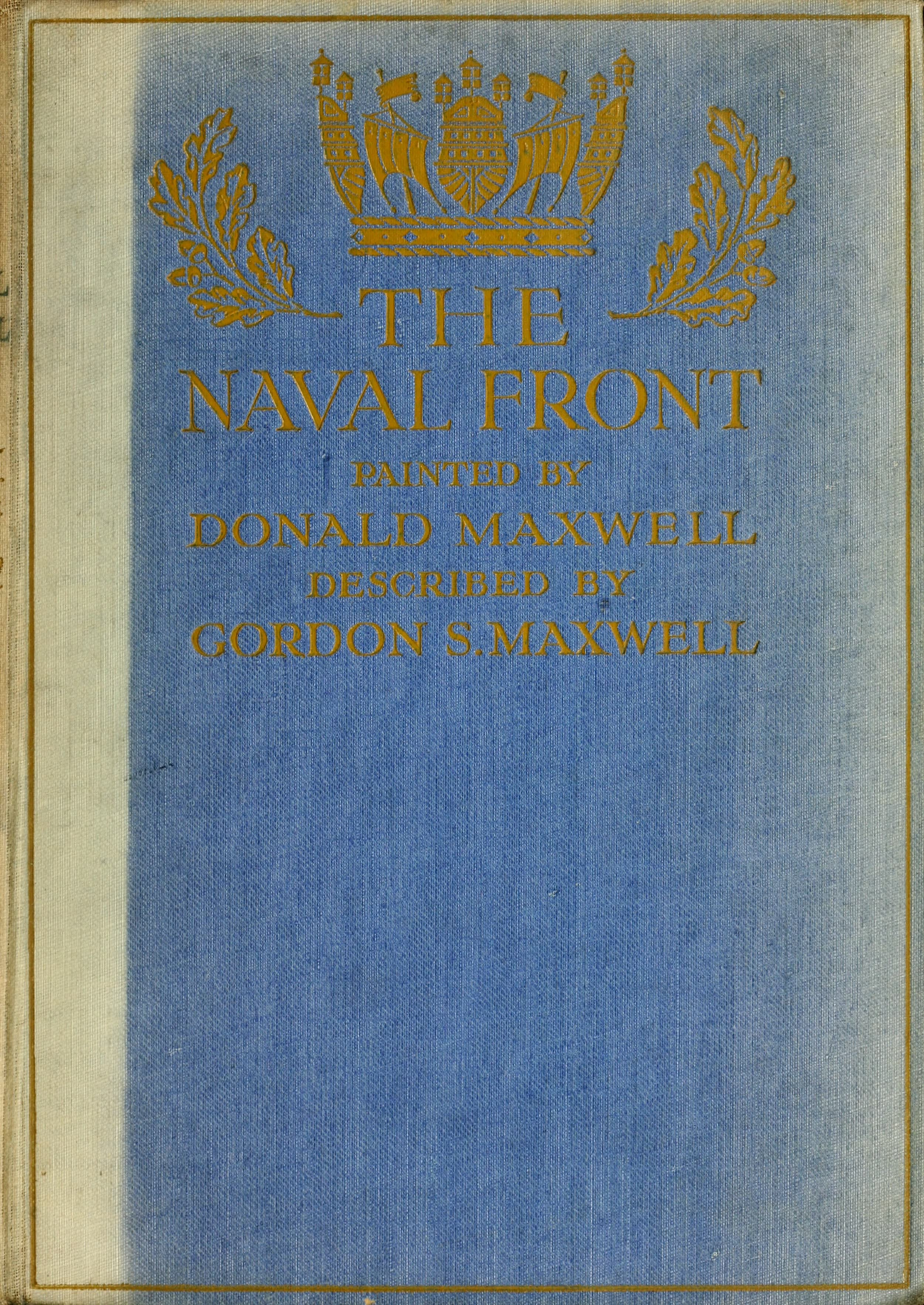 The Naval Front - Front Cover (1920)