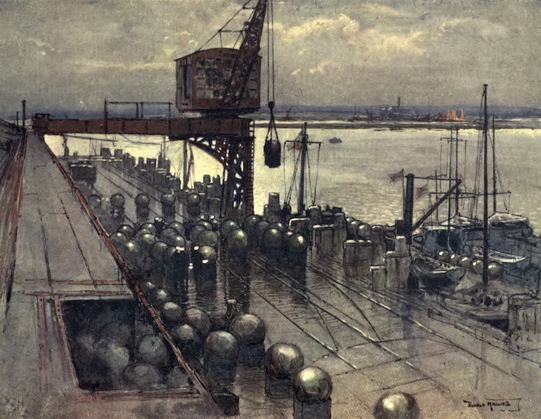 The Naval Front - An Incipient Minefield (1920)
