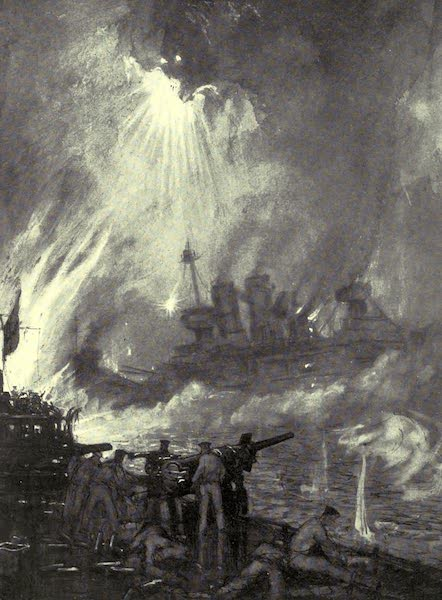 The Naval Front - Fighting the Last Gun : Gallant End of H.M.S. Tipperary at Jutland (1920)