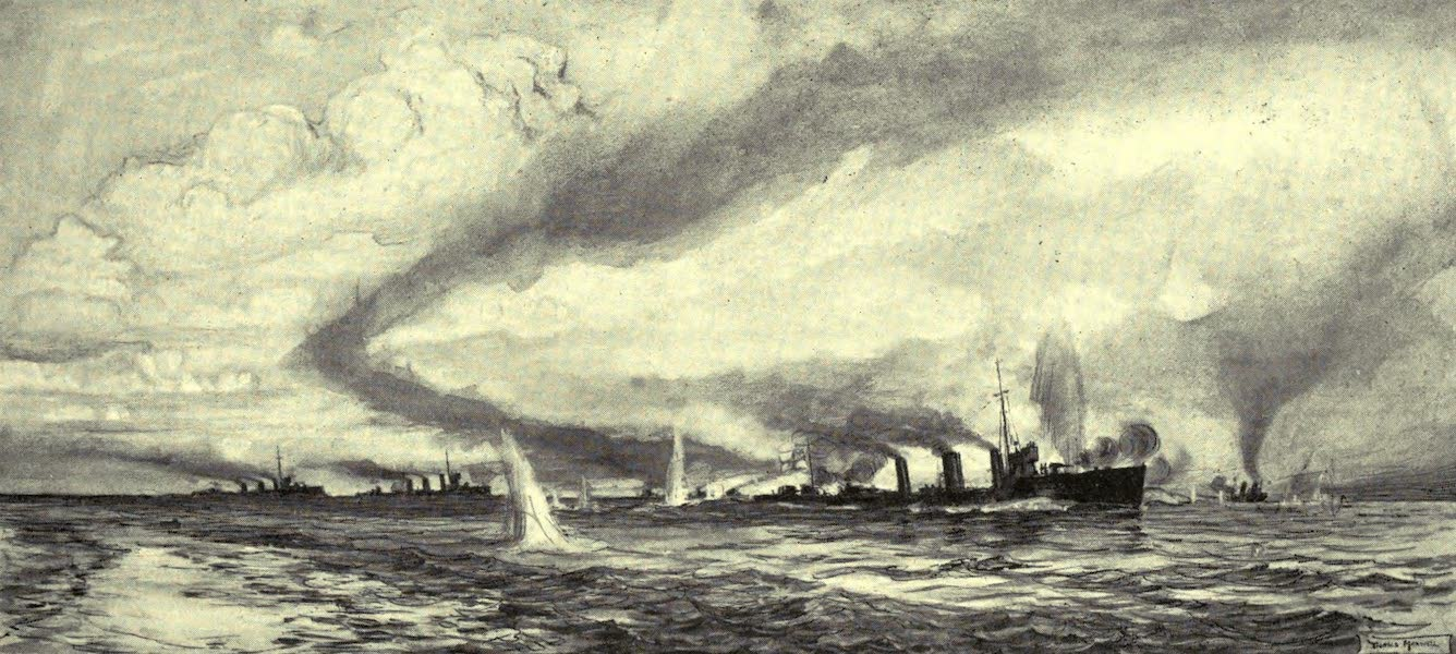 The Naval Front - Destroyer Actions off Dunkirk (1920)