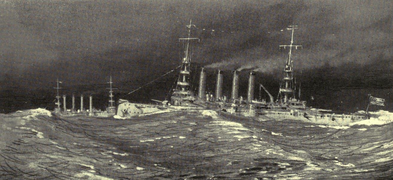 The Naval Front - The Atlantic Ferry : American Cruisers on Convoy Duty (1920)