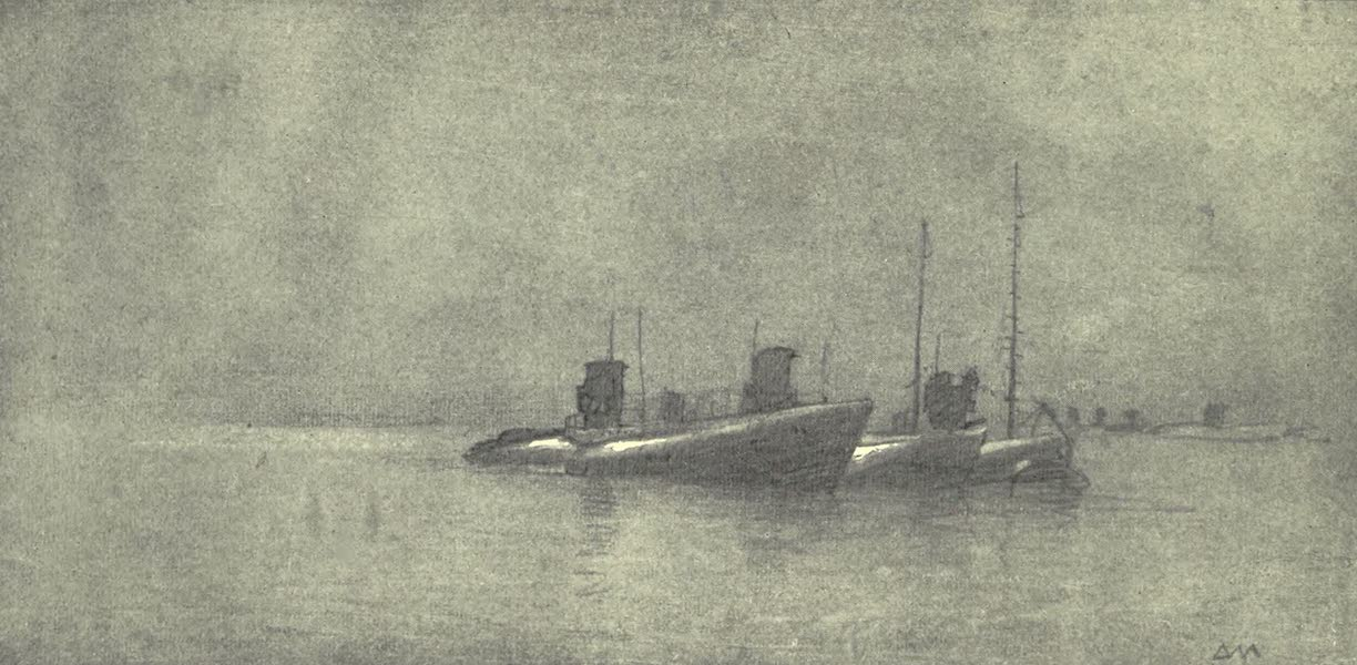 The Naval Front - With Drawn Fangs : Surrendered U-boats by Moonlight (1920)