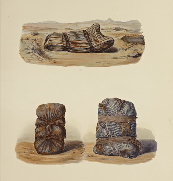 The Necropolis of Ancon Vol. 1 - Simple Mummies in coloured striped cerements (1880)