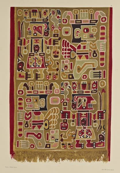 The Necropolis of Ancon Vol. 2 - Sumptuous Garment of a Mummy (1880)