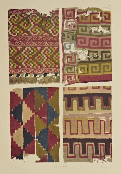 The Necropolis of Ancon Vol. 2 - Dress Materials with Geometrical Patterns (1880)