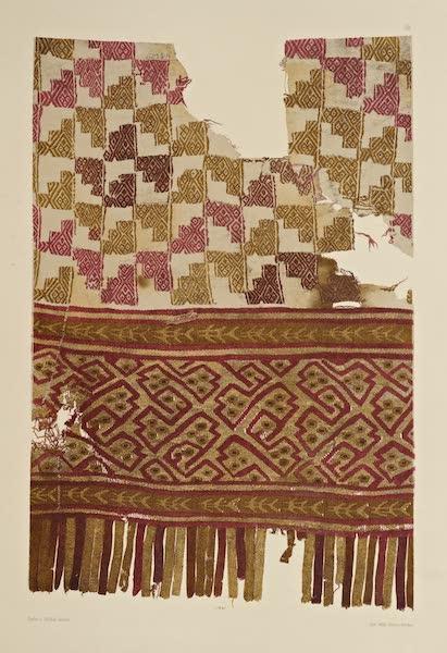 The Necropolis of Ancon Vol. 2 - Ornamented Cotton Garment with Woollen border (1880)