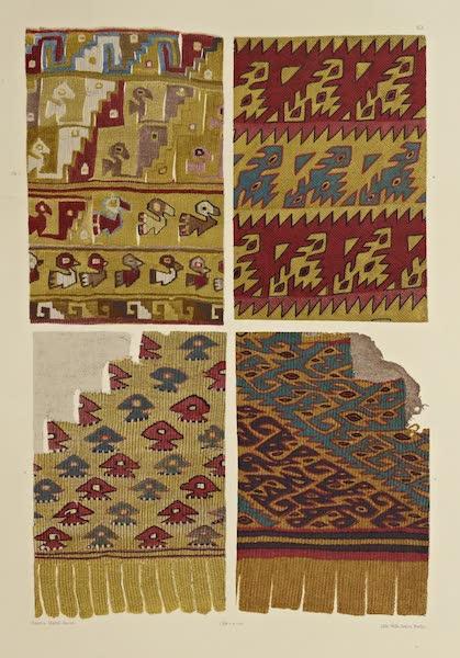 The Necropolis of Ancon Vol. 2 - Borders of flowing Garments — Ornamented Woollen Corner (1880)