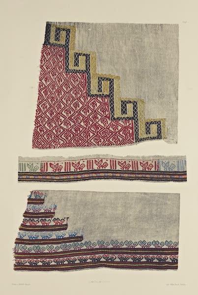 The Necropolis of Ancon Vol. 2 - Cotton Cloth with ornamental Corners and Hem (1880)