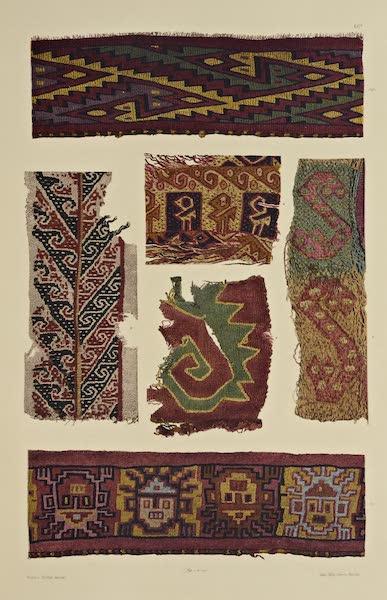 The Necropolis of Ancon Vol. 2 - Borders and border-like fabrics (1880)