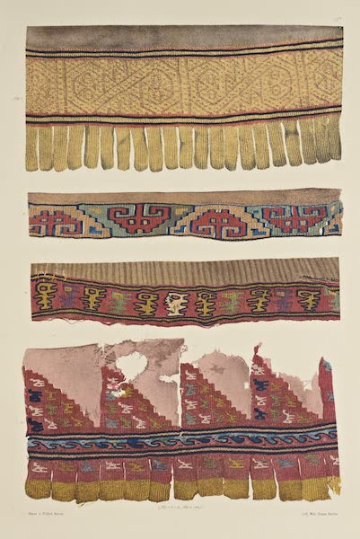 The Necropolis of Ancon Vol. 2 - Woollen Borders of Cotton garments (1880)