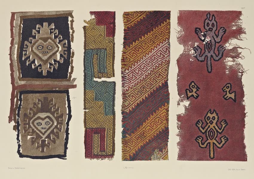 The Necropolis of Ancon Vol. 2 - Border-like Woollen fabrics (1880)