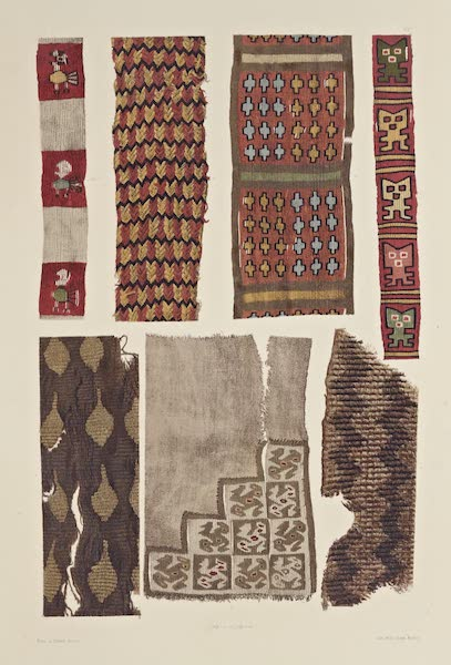 The Necropolis of Ancon Vol. 2 - Sundry pieces of weaving (1880)