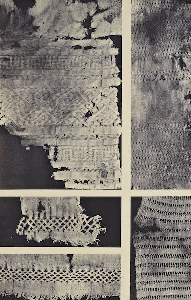The Necropolis of Ancon Vol. 2 - Cotton stuffs reticulated and ornamented with Needlework (1880)