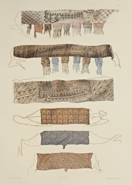 The Necropolis of Ancon Vol. 2 - Large and small girdle pouches (1880)