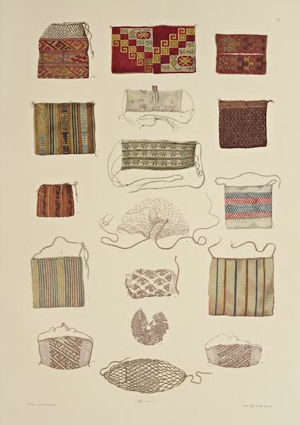 The Necropolis of Ancon Vol. 2 - Woollen, Cotton and Net pouches (1880)