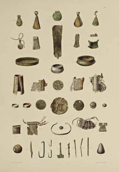 The Necropolis of Ancon Vol. 3 - Metal Utensils and Ornaments (1880)