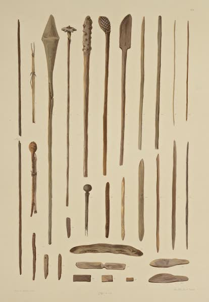 The Necropolis of Ancon Vol. 3 - Wooden Weapons and Implements (1880)