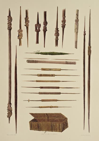 The Necropolis of Ancon Vol. 3 - Fine Wooden Implement; Workbasket (1880)