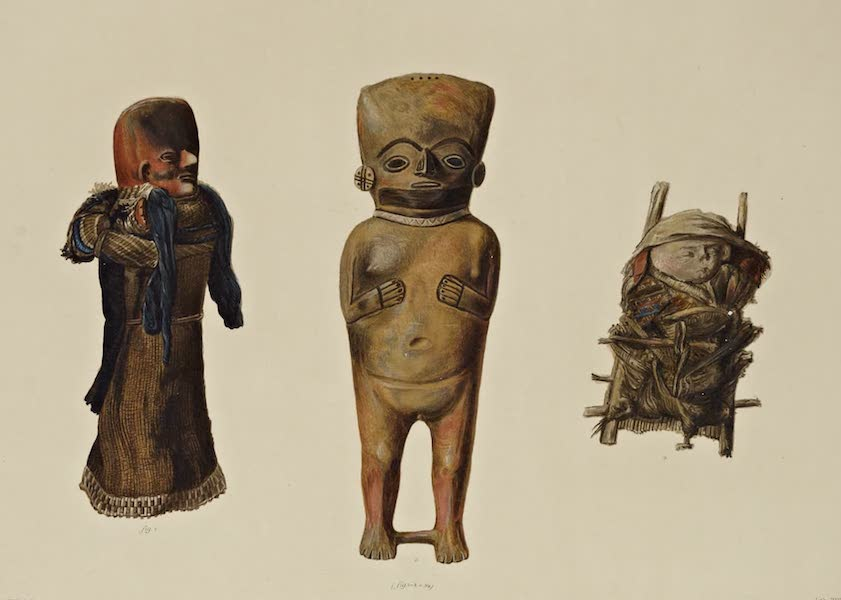 The Necropolis of Ancon Vol. 3 - Large Clay Figures (1880)