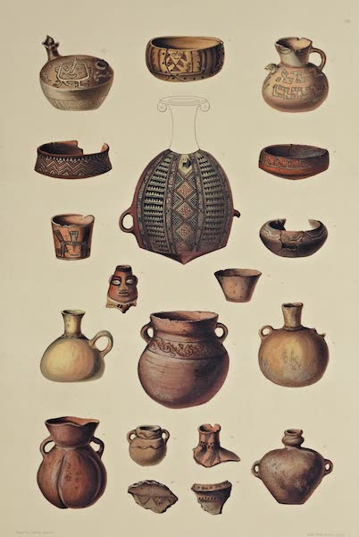 The Necropolis of Ancon Vol. 3 - Red Earthenware partly painted (1880)