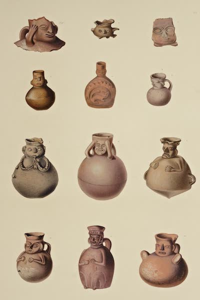 The Necropolis of Ancon Vol. 3 - Urns with Human Features (1880)