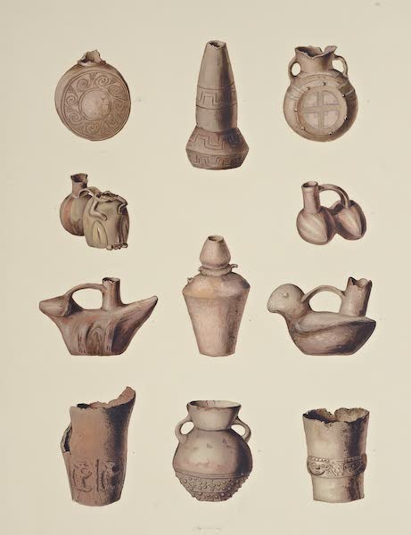 The Necropolis of Ancon Vol. 3 - Large Red Earthenware (1880)