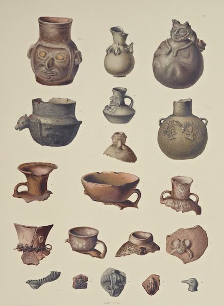 The Necropolis of Ancon Vol. 3 - Earthenware and Potsherds (1880)