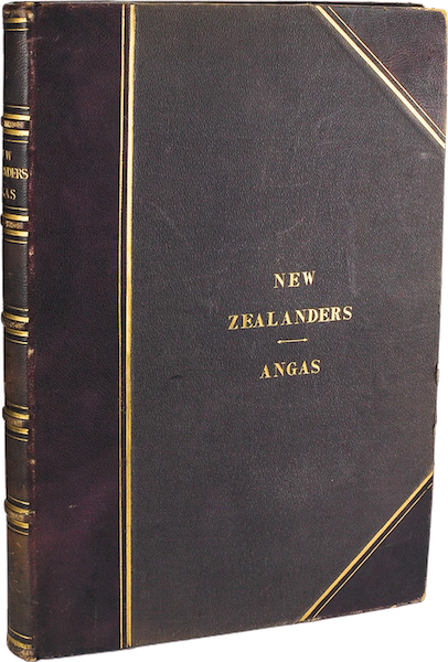 The New Zealanders Illustrated - Book Display (1847)