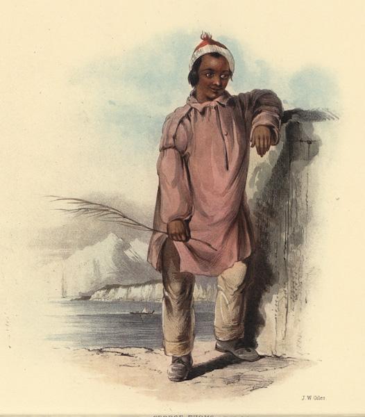The New Zealanders Illustrated - George Thomas, a half caste boy. Nephew of Rauparaha (1847)