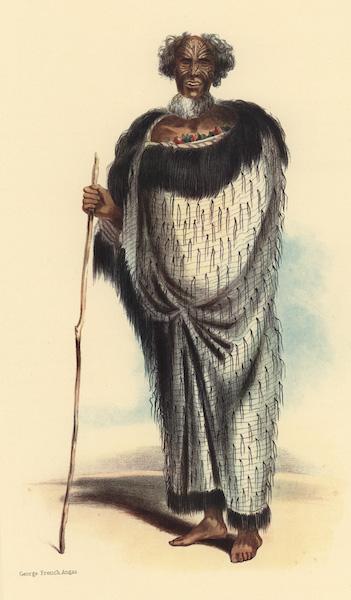 The New Zealanders Illustrated - Horomona Maruhau or Blind Solomon (1847)
