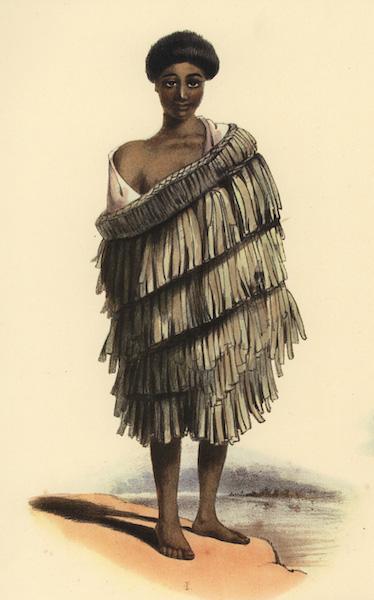 The New Zealanders Illustrated - Te Maro, a boy of Waikato (1847)