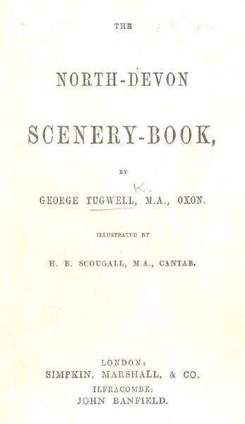 The North-Devon Scenery-Book - Title Page (1863)