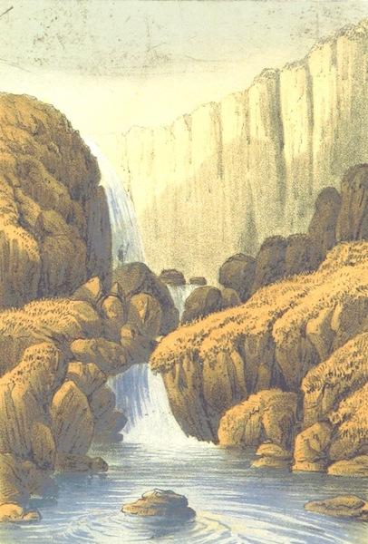 The North-Devon Scenery-Book - Milford Waterfalls, Hartland (1863)