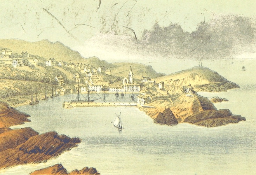 The North-Devon Scenery-Book - Ilfracombe from Hillsborouch (1863)