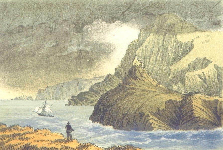 The North-Devon Scenery-Book - St. Nicolas' Chapel, Ilfracombe (1863)