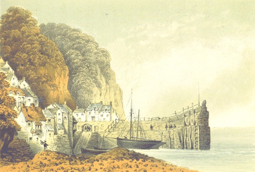 The North-Devon Scenery-Book - Clovelly (1863)