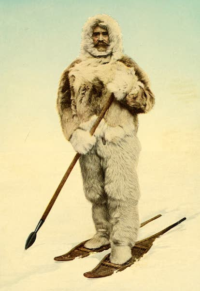 Portrait of Robert E. Peary in His Actual North Pole Costume