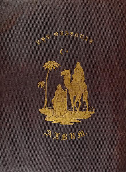The Oriental Album - Front Cover (1862)
