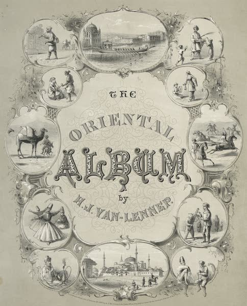 The Oriental Album - Illustrated Title Page (1862)
