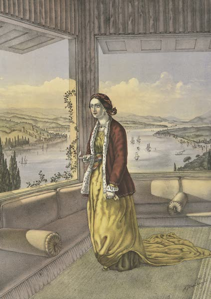 The Oriental Album - Armenian Lady (at home) (1862)