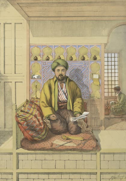 The Oriental Album - Turkish Scribe (1862)