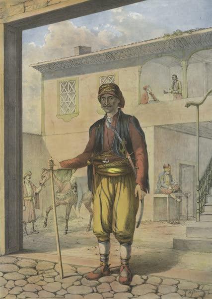 The Oriental Album - Turkish Cavass (Police Officer) (1862)