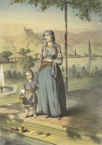 The Oriental Album - Turkish Lady (Unveiled) (1862)