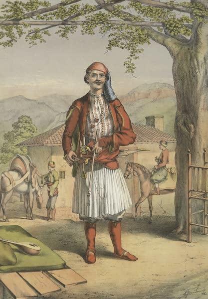 The Oriental Album - Albanian Guard (1862)